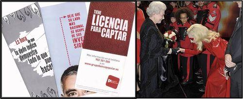 Banco popular + lady gaga