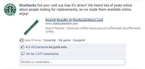 Starburcks facebook
