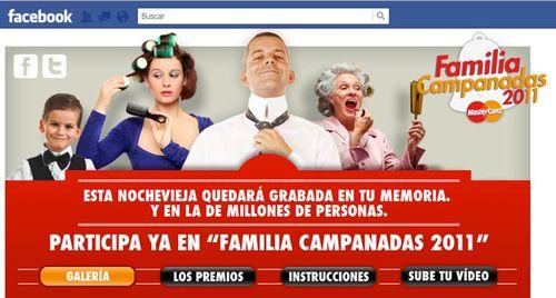 Familia campanadas 2011