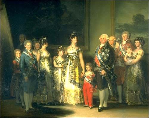 Familia carlos iv