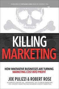 libros sobre branded content: killing marketing