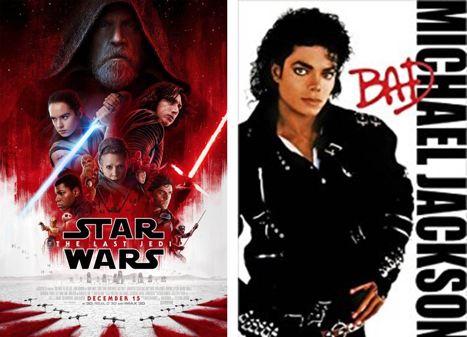 Star Wars y Michael Jackson