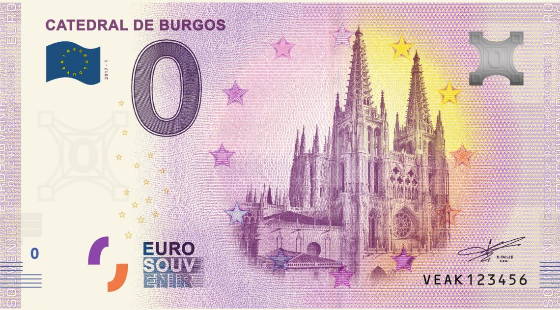 billete de cero euros