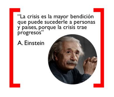 einstein y las crisis